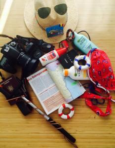 Check-liste sac à dos Delta du Danube